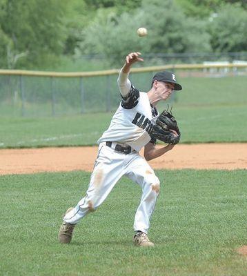 Eastside Spartan baseball senior Landon Trent. PHOTO BY KELLEY PEARSON