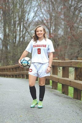Central Lady Warrior soccer senior Halie Lynn. SUBMITTED PHOTO