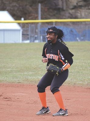 J.I. Burton Lady Raider softball senior Akyssa Hollinger. PHOTO BY JANICE HAMPTON