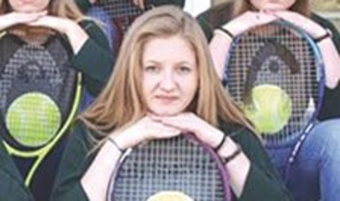 Eastside Lady Spartan tennis senior Madison Powers. SUBMITTED PHOTO
