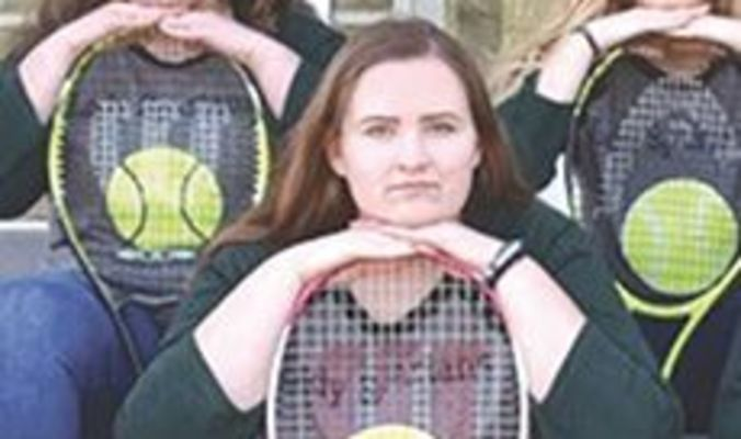 Eastside Lady Spartan tennis senior Sydney Laney. SUBMITTED PHOTO