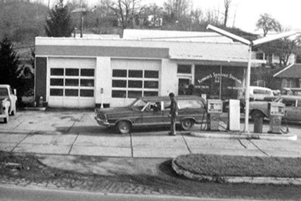 Local  landmarks are  featured in the film, including Kennedy's Service Station which  was owned  by Richie Kennedy's father.