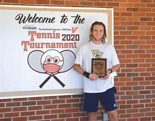 UVA Wise's Jake Ferner won the championship in a tough Men's A singles division.