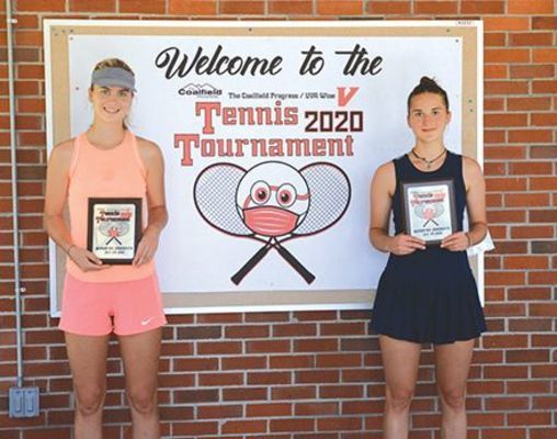 Sisters Liza and Katya Akimenko finished one, two in the women's singles division as well as winning the women's doubles championship.