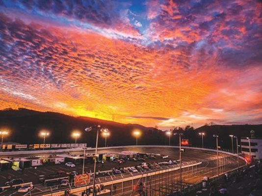 It was a perfect night for racing at Lonesome Pine Raceway last Saturday night. PHOTO BY RJ ROSE