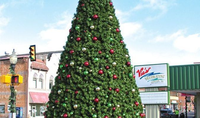 This downtown Christmas tree will be the focal point for a new event yet to be announced.  JEFF LESTER PHOTO