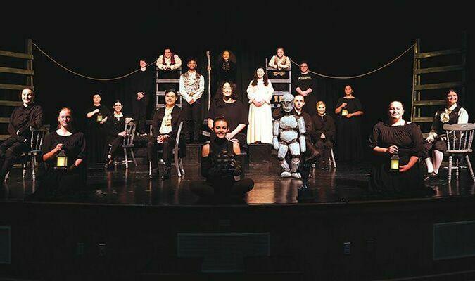 Eastside One Act team