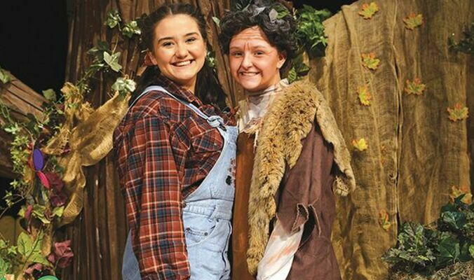 """Central students tell the story of 9 year old """"B"""" - short for Beatrix (played by Maria Boggs) who is facing many challenges in her young life. As the story develops, she encounters a strange figure (played by Emma Stallard) in her backyard treehouse that she eventually comes to believe is her childhood hero, the missing pilot Amelia Earhart."""