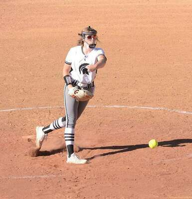 Tinley Hamilton had stellar days in the circle on Thursday and Saturday. PHOTO BY KELLEY PEARSON