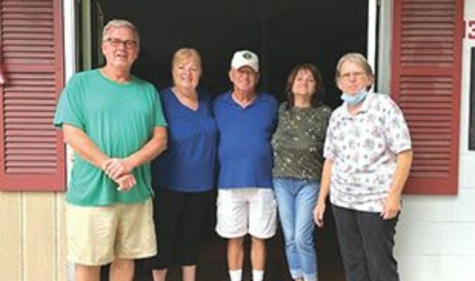 The new food bank location at 8033 Main Street in Pound. This is the building across from the Pizza Plus that was once the home of The Feed Bucket. Picture are volunteers, Johnny Tompkins, Liz Neimier, Wendell Maggard, Felicia Powers, and Charlene Shortt.