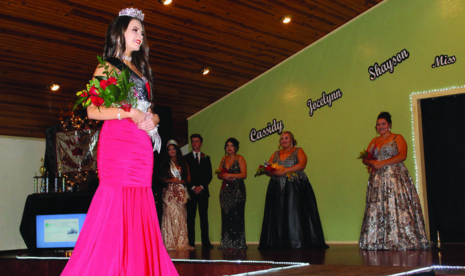 Mystik Palmer was crowned the 2020 Miss Comanche at the Asbury Complex in Comanche last Saturday.  More photos on page 8