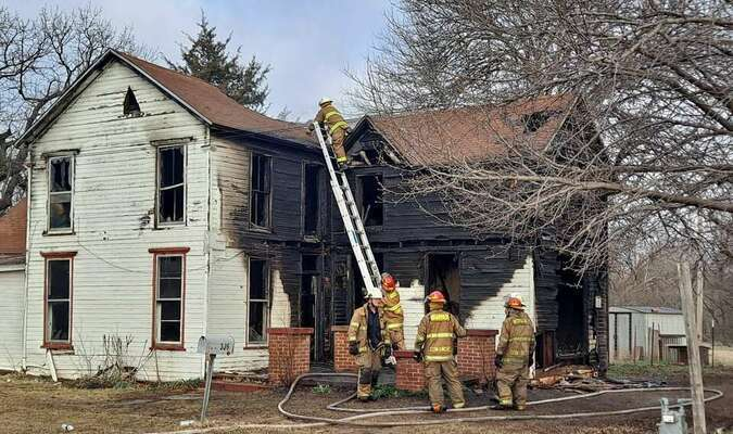 The fire at the home on 309 Church Street resulted in a total loss.