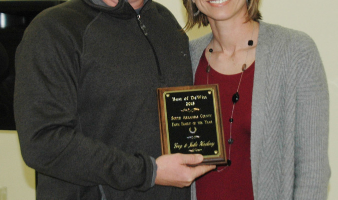 2015 Farm Family of the Year- Greg and Julie Hackney