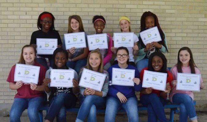 7th Grade Athletes