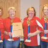 Bowling on the championship team were Mary Frizzell of England, Patsy Padgett of DeWitt, Katrina Anderson and Amy Maloy of Stuttgart and (not pictured) Beverly Burks of England.