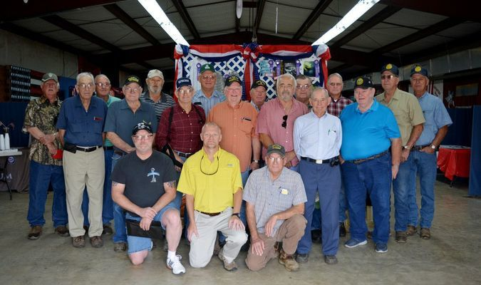 Larry McCallie, Garland Long, Duane Long, Bill Engal, John McCord, Perry Simpson, Dan Patterson, Johnny Purdy, Ronnie Allen, Bo Scroggins, Robert Crisswell, Buddy Hearn, Johnny Mommsen, Steve Martin, Stevie Bullock, Terry Dan Bullock, Mack Purdy, Philip Rawls and Lloyd Snyder