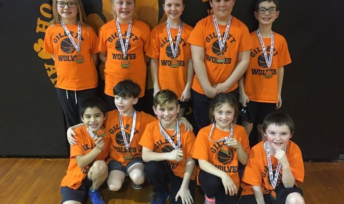 The Orange Team included Ava-Grace Grantham, Kara Holzhauer, Gracie Edmonson, Dalton Cox, Mitchell Eggerman, (front) Erick Chavez, Bryce Talkington, Gary Lyle, Presley Adams and Deuce Howe