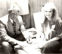 Bill Clinton and Heather Dollar Wright