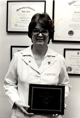 Byrdie McSwain Medical Technologist of the Year
