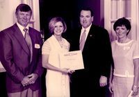 Student's name Heidi Hargrove, Mark and Joyce Hargrove, and Mike Huckabee