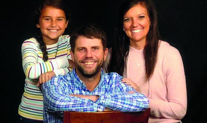 Trey, Ashley, and Tenley Daniel