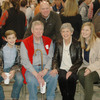 Marion and Carolyn Berry with son Mitch Berry and grandchildren