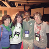 Joyce Hargrove, Kara Puryear, Alex Nsengimana and Crystal Simpson at the Operation Christmas Child Global Conference in Orlando, Florida.