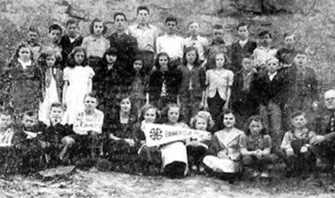 This photo of the award winning Tarpon 4-H Club was found in the April 13, 1951, issue ofThe Dickensoniannewspaper.