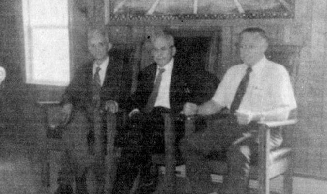 Rev. S. M. McFall, Rev. Asa Hughes, and Rev. Derwood Yates were pastors at Valley View Freewill Baptist Church.