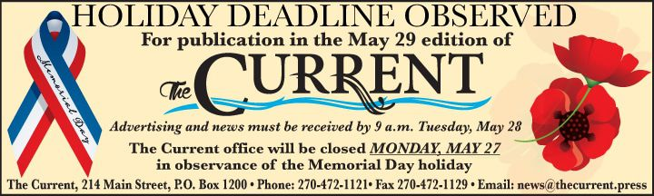 House Ad - Memorial Day Deadline