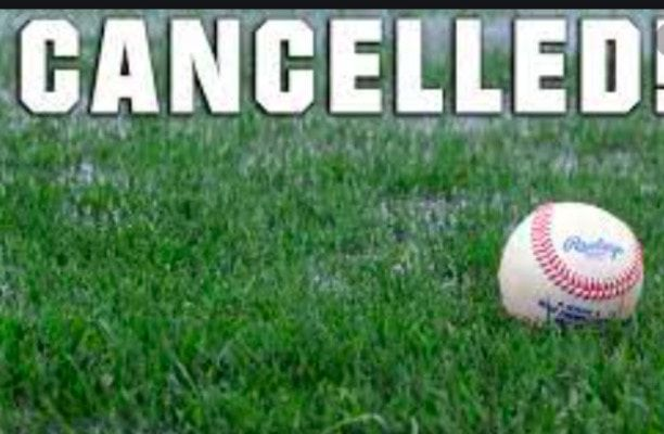BECAUSE OF THE THREAT OF BAD WEATHER, ALL GAMES CANCELLED FOR MAY 4 AT FULTON CITY PARK