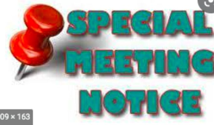 FULTON TOURISM COMMISSION SPECIAL CALLED MEETING FRI., JULY 16