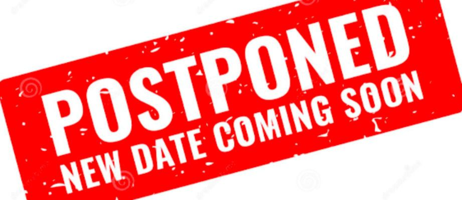 MOVIE IN THE PARK POSTPONED FOR TONIGHT