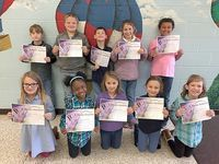 SFES PERFECT ATTENDANCE – These South Fulton Elementary students in Second Grade achieved perfect attendance during the previous grading period. They are,front row, left to right, Lilly Haynes, Ashlynn Abbott, Bella Caksackkar, Samantha Mann, Alyssa Liliker; back row, Harlee Jackson, Brady Parnell, Jakob Cooley, Avery Faulkner, and Drake Beard. (Photo submitted)