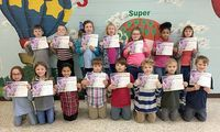 SFES PERFECT ATTENDANCE – These South Fulton Elementary students in ThirdGrade achieved perfect attendance during the previous grading period. They are, front row, left to right, McKenna Haley, McKinley Guthrie, Channing Davis, Levi Floyd, Jaxon Williams, Joseph Riddell, Benton Taylor, Judd Whitmore; back row, Michael O'Connell, Taylor Hall, Lyla Burnette, Hailey Collier, Abbi Hicks, Lyric Noonan, and Kaylin Tucker. (Photo submitted)