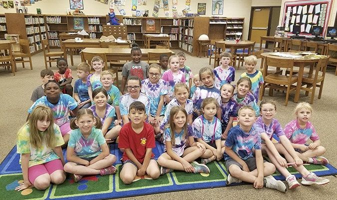 Pictured are students who participated in South Fulton Elementary School's Summer Enrichment Pro- gram. (Photo submitted)
