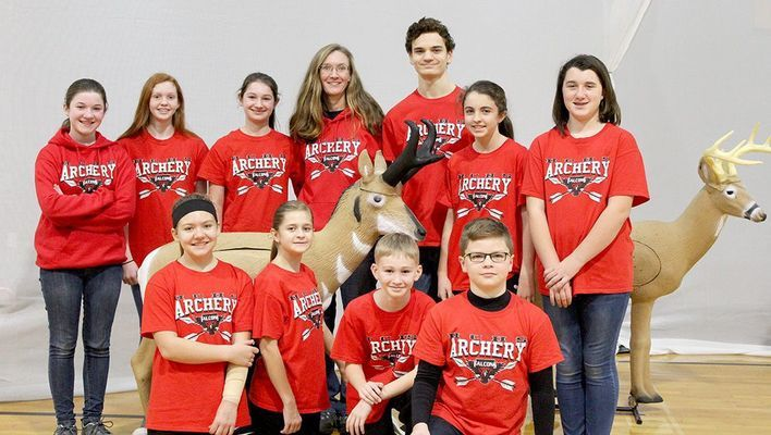 Pictured are members of the Hickman County Archery team who recently began their 2018-19 season of competition. (Photo submitted)