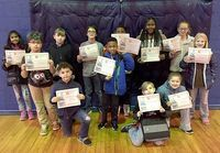 ACCELERATED READER 25 POINT CLUB – The following students at Carr Elementary in Fulton earned honors in the 25 points division of the Top AR Readers Club. Front row, left to right, Trei Warner, Jaiden Patton, Lakota LaChance Stoneham, Adah McClure; back row, Hetvi Patel, Keigan Warner, Eli Johnson, Gabriel Zalucki, Davarious Freeman, NaTori Hutcherson, Piper Cavness, and Emily Cochran. (Photo submitted)