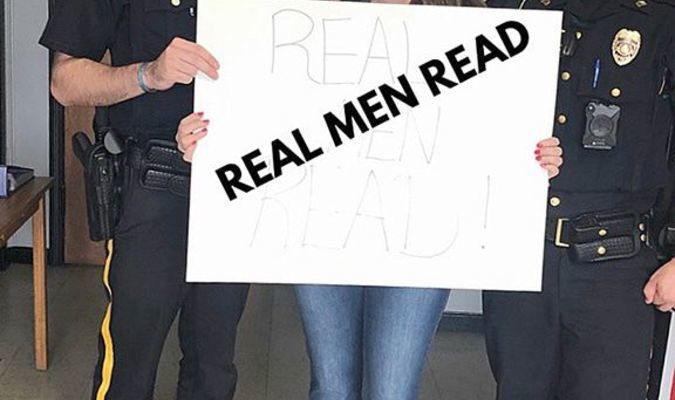 """""""Real Men Read"""" is the theme for the final Family Reading Night for the 2018-19 school year at Carr Elementary School in Fulton.. (Photo submitted)"""