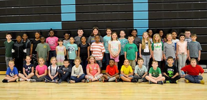 Fulton County Elementary second grade