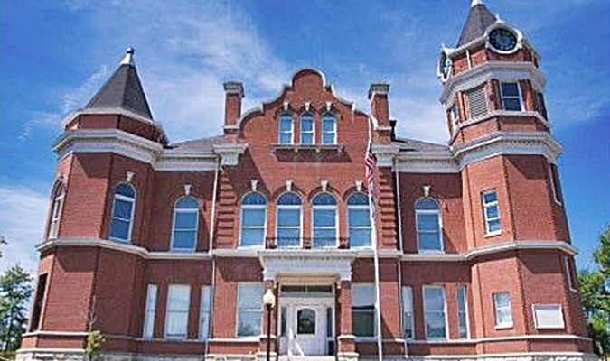 The Fulton County Courthouse, Hickman