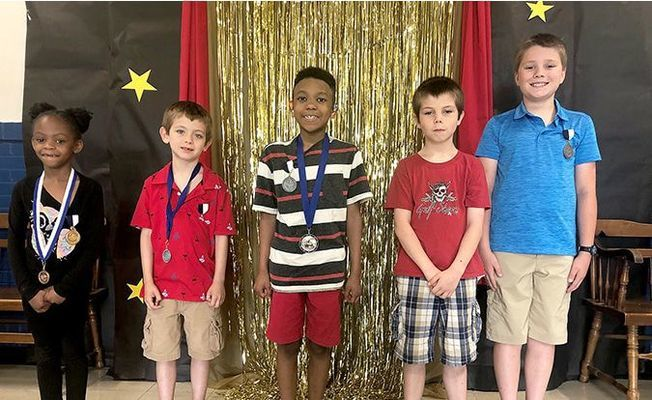 Carr Principal's Award winners were among those honored at the school's end of year recognition ceremony.