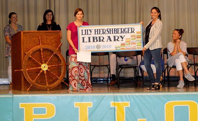 Library namesake at Fulton County Elementary/Middle School