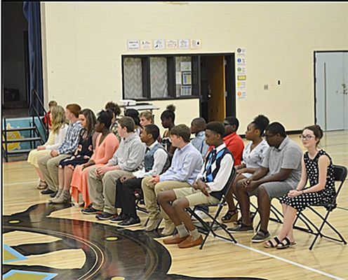 Fulton County Middle School students were recognized for their achievements during the recent Honors Day May 29.