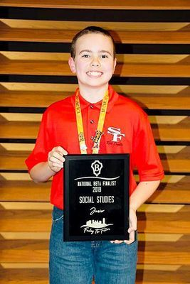South Fulton student places on national level at Beta convention