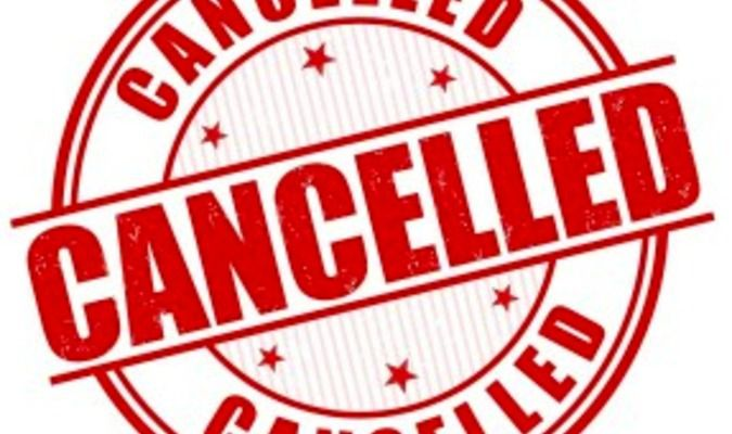 MEETING CANCELLED FOR TONIGHT