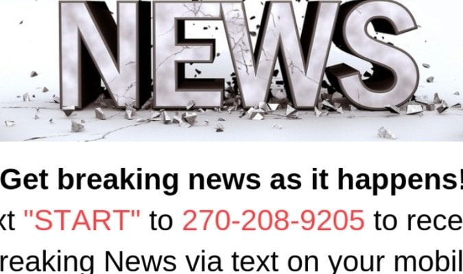 FOLLOW THESE SIMPLE INSTRUCTIONS AND RECEIVE BREAKING NEWS ALERTS ON YOUR CELL PHONE TEXTS OR EMAILS!