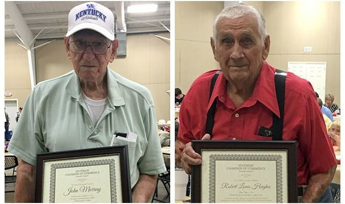VETERANS HONORED AT HICKMAN CHAMBER OF COMMERCE EVENT