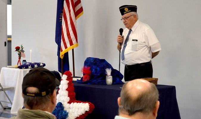 AREA VIETNAM VETERANS WERE HONORED BY THE AMERICAN LEGION AND DAUGHTERS OF THE AMERICAN REVOLUTION OCT. 18