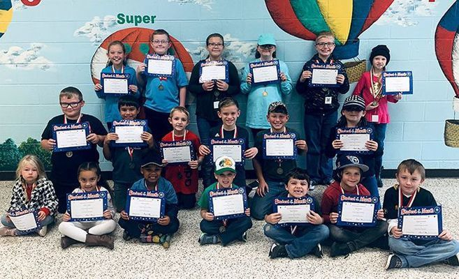 SOUTH FULTON ELEMENTARY STUDENTS OF THE MONTH